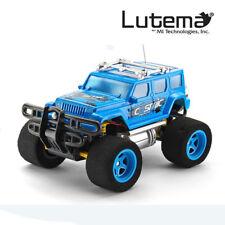 Lutema Cosmic Rocket 4CH Remote Control Truck - Blue