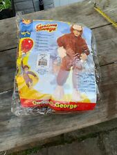 Genuine Curious George American Dress Up Costume  Age3/4