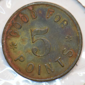 1900 ~40 1071 San Francisco Sportland Free Game Token 296185 combine shipping