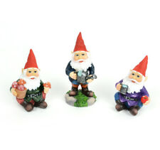 Miniature Dollhouse Fairy Garden - Garden Gnomes - Set of 3 - Accessories