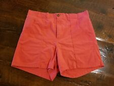 Vintage Weeds Mens Size 31 Cotton Short Shorts Deep Pockets Red surfer small 70s