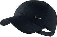 NIKE Basecap METAL SWOOSH Cap schwarz Hut verstellbare Baseball Kappe Mütze