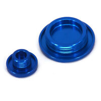 CNC Blue Billet Engine Timing Cover Plug For YAMAHA YZ250F YZ450F 14-16 YZ250FX