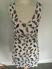 Fat Face Ladies Butterfly Sleeveless Tunic / Top Size 14. New With Tag.