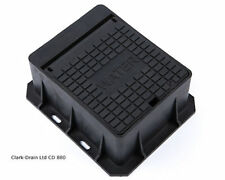 140mm x 115mm x 75mm Stop Tap Stop Cock Cover PVC Locking Surround Box