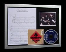 MASSIVE ATTACK Safe From Harm TOP QUALITY CD FRAMED DISPLAY+EXPRESS GLOBAL SHIP