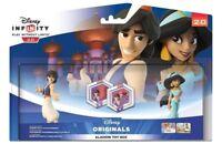 DISNEY INFINITY 2.0 * ALADDIN TOYBOX SET with Jasmine and Power Discs NEW Boxed