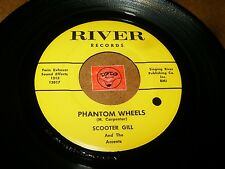 SCOOTER GILL AND THE ACCENTS - PHANTOM WHEELS - SUICIDE / LISTEN - MOD POPCORN