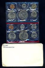 12 Coin 1978 U.S. Mint Set Near $4 Face Value, $1.00 Rebate For Multiple Orders