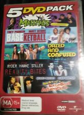 Mallrats/Basketball/Dazed & Confused/Reality Bites/B&T Exc Adv 5 DVD set VGC