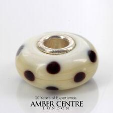 Trollbeads Genuine Brown Dot Charm 61146 RRP£35!!!