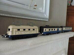 locomotive jep bb et 2 wagons