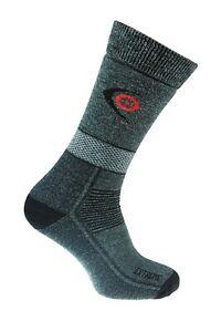 Trekking Extreme Socks Winter Thick Hiking Endurance Outdoor Dark Grey 3 sizes