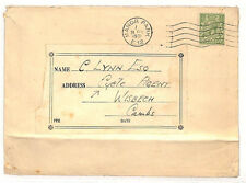AE41 1931 Go * Cycle Agent * Courrier Manor Park Cover Wisbech Cambridge {samwells couvre -}