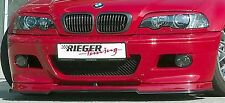 BMW Genuine Rieger E46 M3 2001-2006 Front Spoiler Lip Add-On NEW