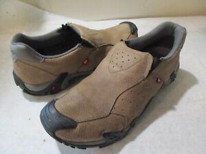 Men's ECCO X Casual Slip-On Shoes, Khaki, Sz 11 - 11.5 M - Really Nice