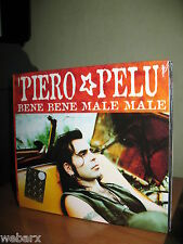 PIERO PELU' BENE BENE MALE MALE CD SINGLE NUOVO