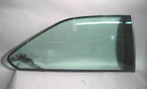 BMW E36 2dr Coupe Right Rear Pop-Out Quarter Vent Window Glass w Hinge 92-99
