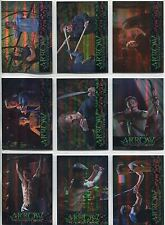 Arrow Season 1 Complete Training Chase Card Set TR1-9