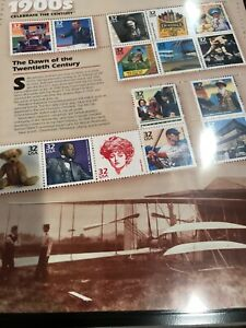 US MNH Postage Stamps- Celebrate the Century Ten sheets set