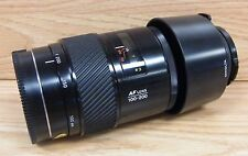 Genuine Minolta AF Lense 100-200 Hoya 49mm Skylight (1B) With Lens Caps **READ**