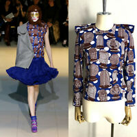 AD2007 Comme Des Garcons African Hair style Print Tops