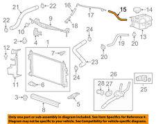 Chevrolet GM OEM 15-16 Impala 3.6L-V6 Radiator-Overflow Hose Right 92264985