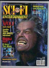 Sci Fi Entertainment  Mag ,Premier Issue , Vol 1 No 1 , June 1994 , Wolf ,