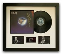 CHRIS REA HAND SIGNED FRAMED VINYL DISPLAY - THE ROAD TO HELL.