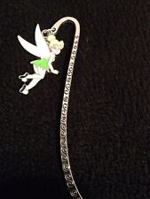 peter pan inspired green tinkerbell / fairy bookmark
