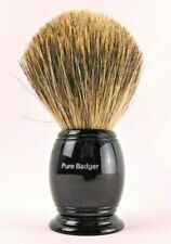 The Art Of Shaving Pure Badger Hair Brush Black new without box