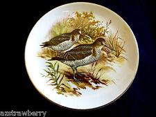 VTG Old Foley James Kent England Wild Life Hunting Birds Quail Small plate dish