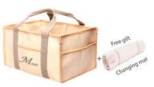 Baby Diaper Caddy Organizer by MicAmic- Large Capacity Nursery Organizer,basket