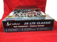 COBRA 29 LTD CLASSIC CB RADIO PRO TUNED & ALIGNED,USA FACEPLATE