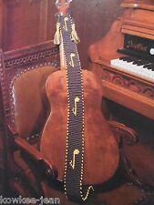 Macrame patterns: el camino real, lamp shades, music guitar strap, plant hangers