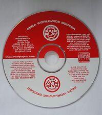 SEGA WORLDWIDE SOCCER PC-CD FOOTBALL GAME brand new! WINDOWS XP/ME/98