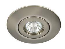 Brushed Chrome Hole Converter Kit R50, R63, R80 Downlight Spotlight Cover Kit