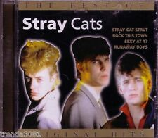 Stray Cats Best of Belguim Import Classic 80s Rock BRIAN SETZER ROCK THIS TOWN