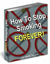 HOW TO STOP SMOKING Forever In Just One Week - Quit Nicotine Cigarettes (CD-ROM)
