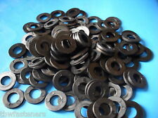 10mm NYLON PLASTIC WASHER SPACERS M10 WASHER PACK OF 10 BLACK  FREE UK POSTAGE