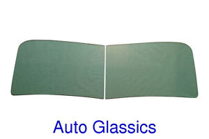 1946 1947 1948 1949 1950 Packard 2pc Windshield Glass NEW All Except Convertible