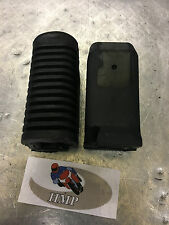 YAMAHA RD350LC RIDERS FOOT REST RUBBERS NEW 1980 - 1983