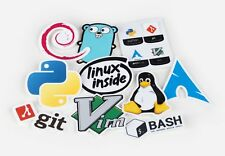 Developers Programmers Stickers Open Source Stickers Git Linux HIGH-QUALITY!