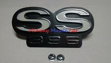 SS 396 grill emblem   66 Chevy Chevelle El Camino    GM resto part