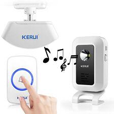 Home Security Alarm System Welcome Doorbell & Wireless PIR Motion Sensor