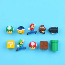 10Pcs/Set Game Super Mario 3D PVC Funny Fridge Magnet Note Posted Stickers Gift