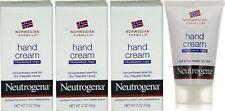 Neutrogena Hand Cream Norwegian Formula Fragrance Free 2oz Lot of 3