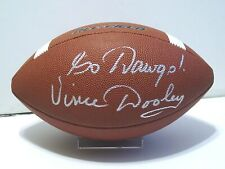 VINCE DOOLEY Signed/Autographed NIKE FOOTBALL Georgia Bulldogs, UGA w/COA