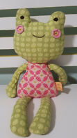 Sofia Frog Lolli Living Plush Toy Soft Toy 43cm Kids Toy Rattles!