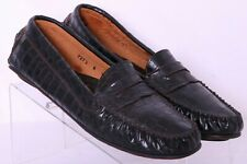 Andre Assous Italy 72727 Croc Print Penny Driving Moc Loafers shoes Women's 10B